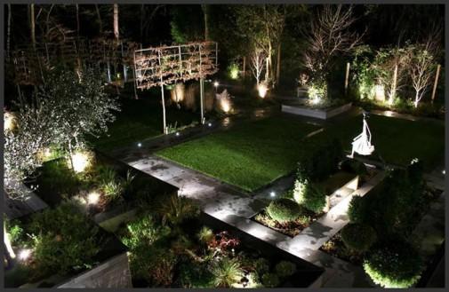 amazing outdoor landscape lighting ideas | Garden Design: Amazing Landscape Lighting Inspiration for ...