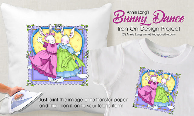 download the full color artwork from Annie Lang's DIY page at www.anniethingspossible.com