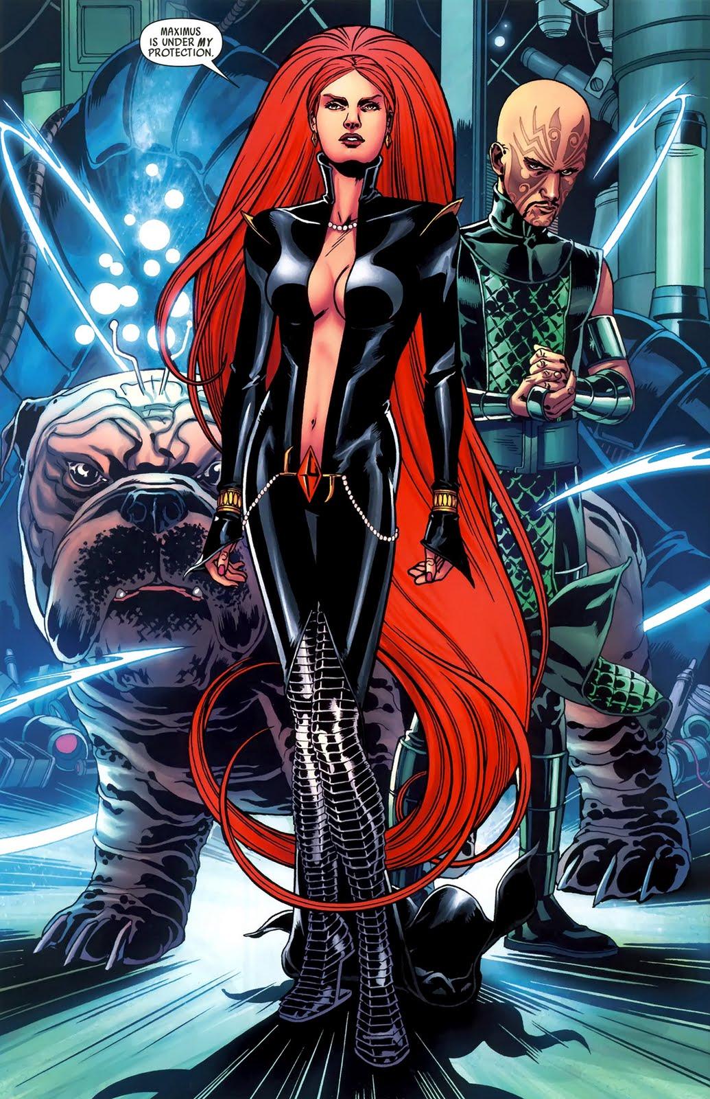 Crystal Marvel Costume Medusa  amp Crystal  Duo Team up