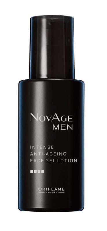 Loção Facial Antienvelhecimento em Gel NovAge Men | 33201