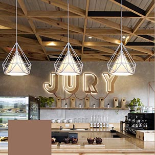 Ngắm nhìn những mẫu đèn thả trần quán cafe đẹp mê ly thu hút ánh nhìn