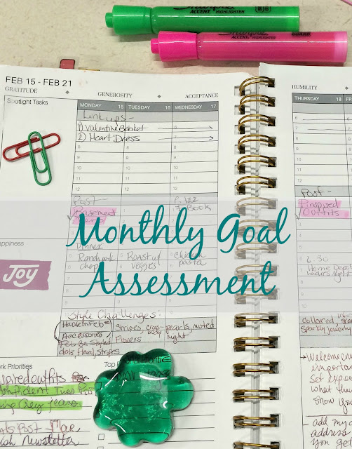 How to do a year end assessment of your goals and set goals for the next year.