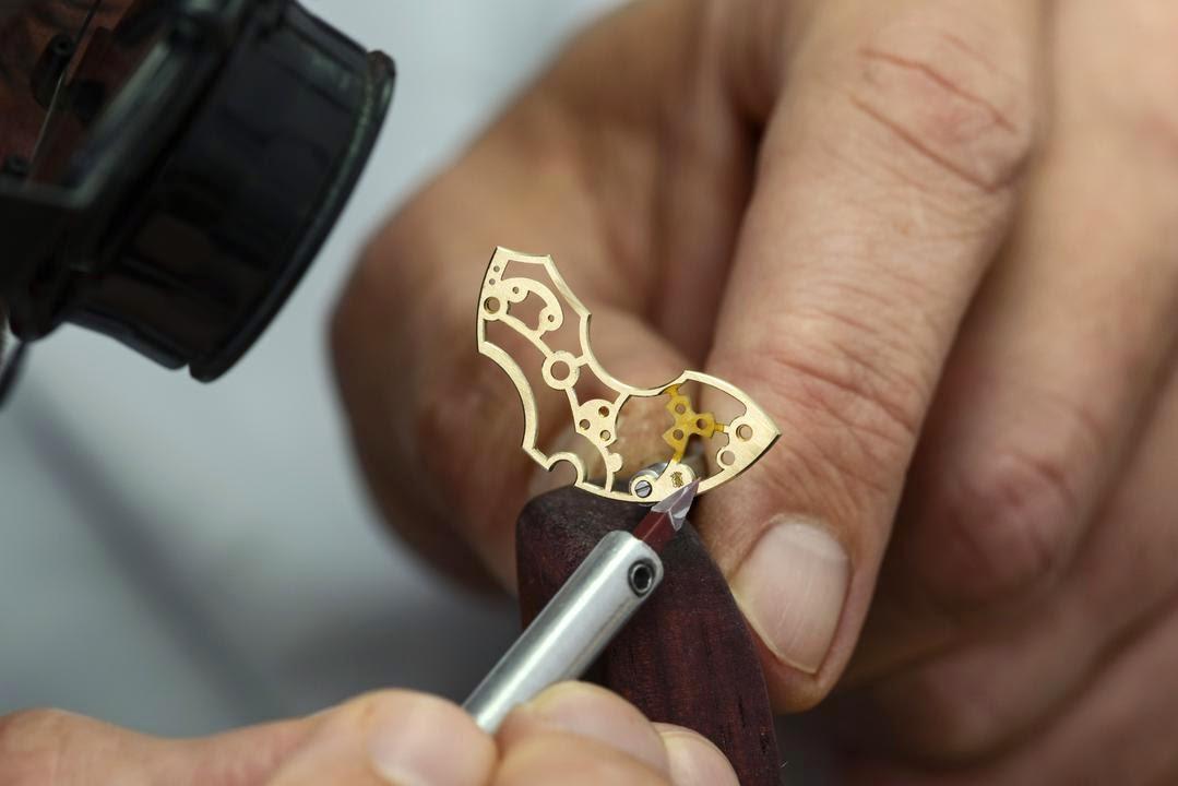 Artesanía en la relojería 15
