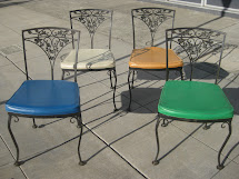 Uhuru Furniture & Collectibles Sold - Four Wrought Iron