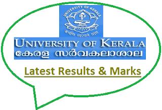 Kerala University Results May June 2020