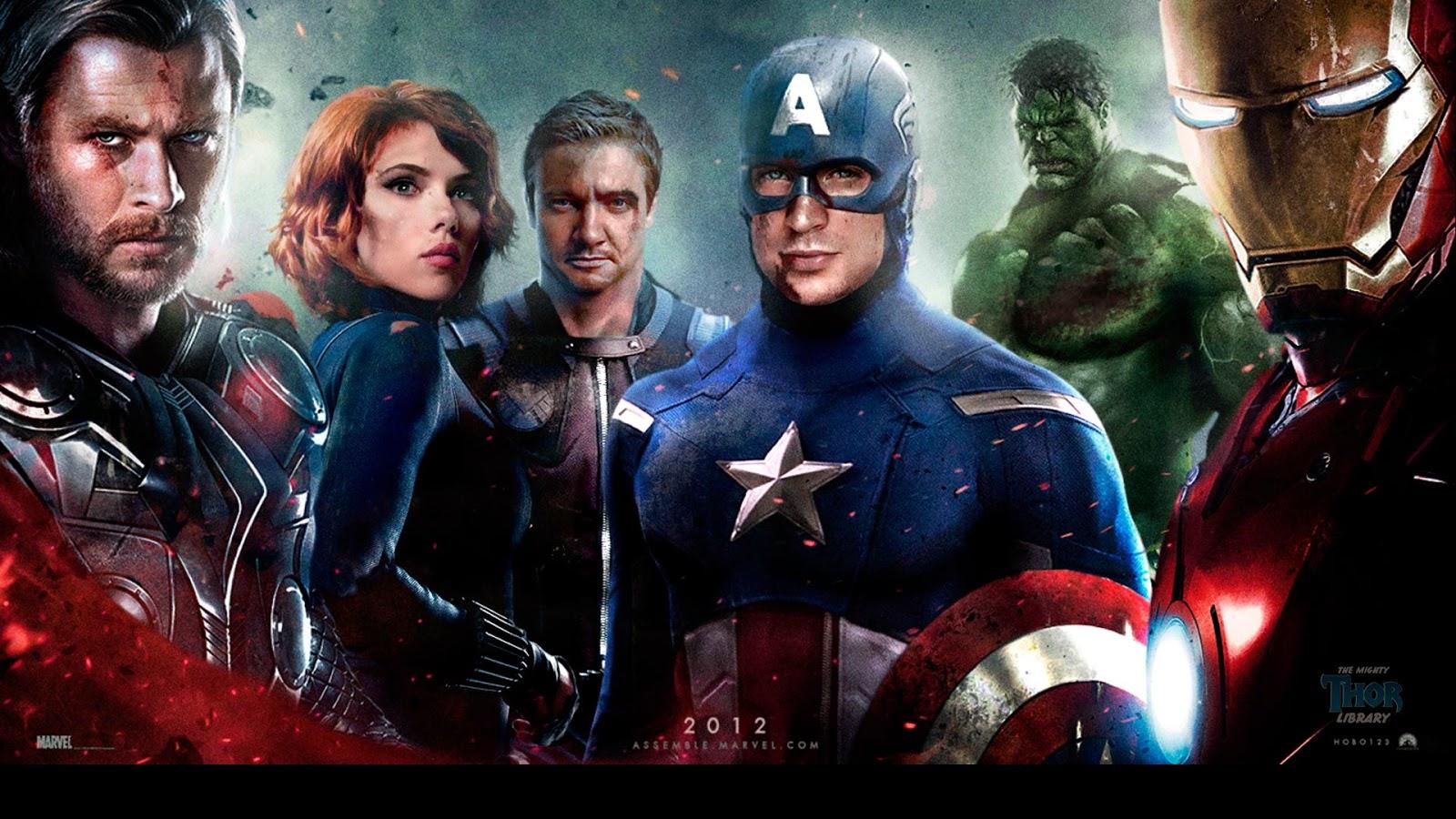 Marvel Avenger Hd Wallpaper Full Hd Wallpapers