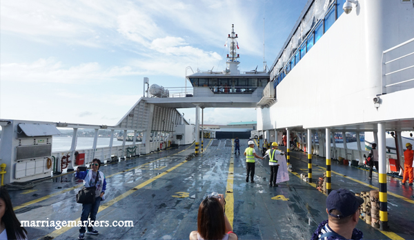 FastCat Ferry RORO - Bacolod-Iloilo - family sea travel - Philippines