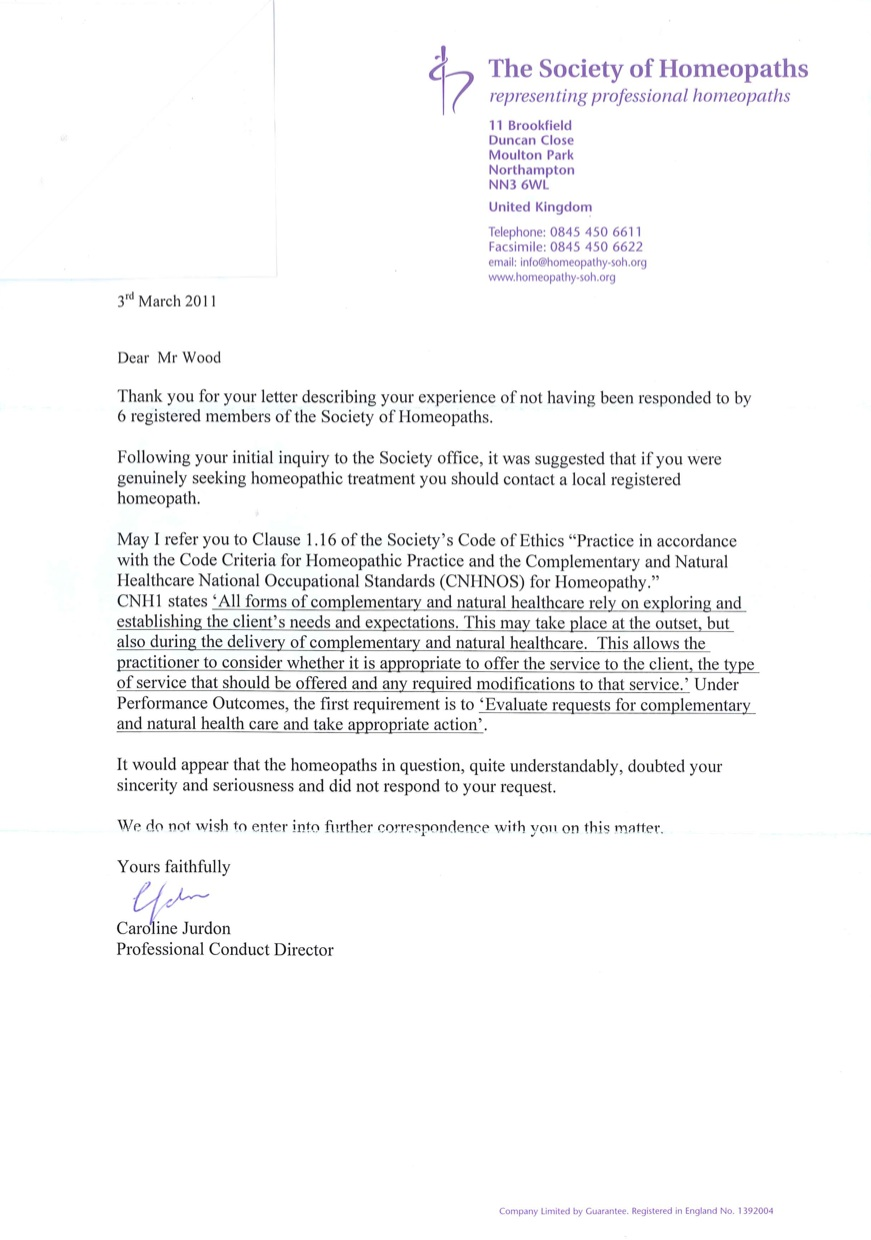 Company complaint letter and response analysis b r dr dwayne gremler