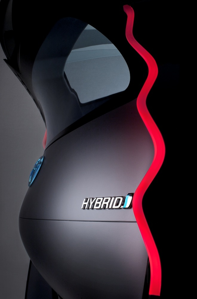 Toyota FT-Bh rear lamp teaser image