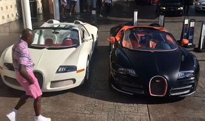Floyd Mayweather and his cars