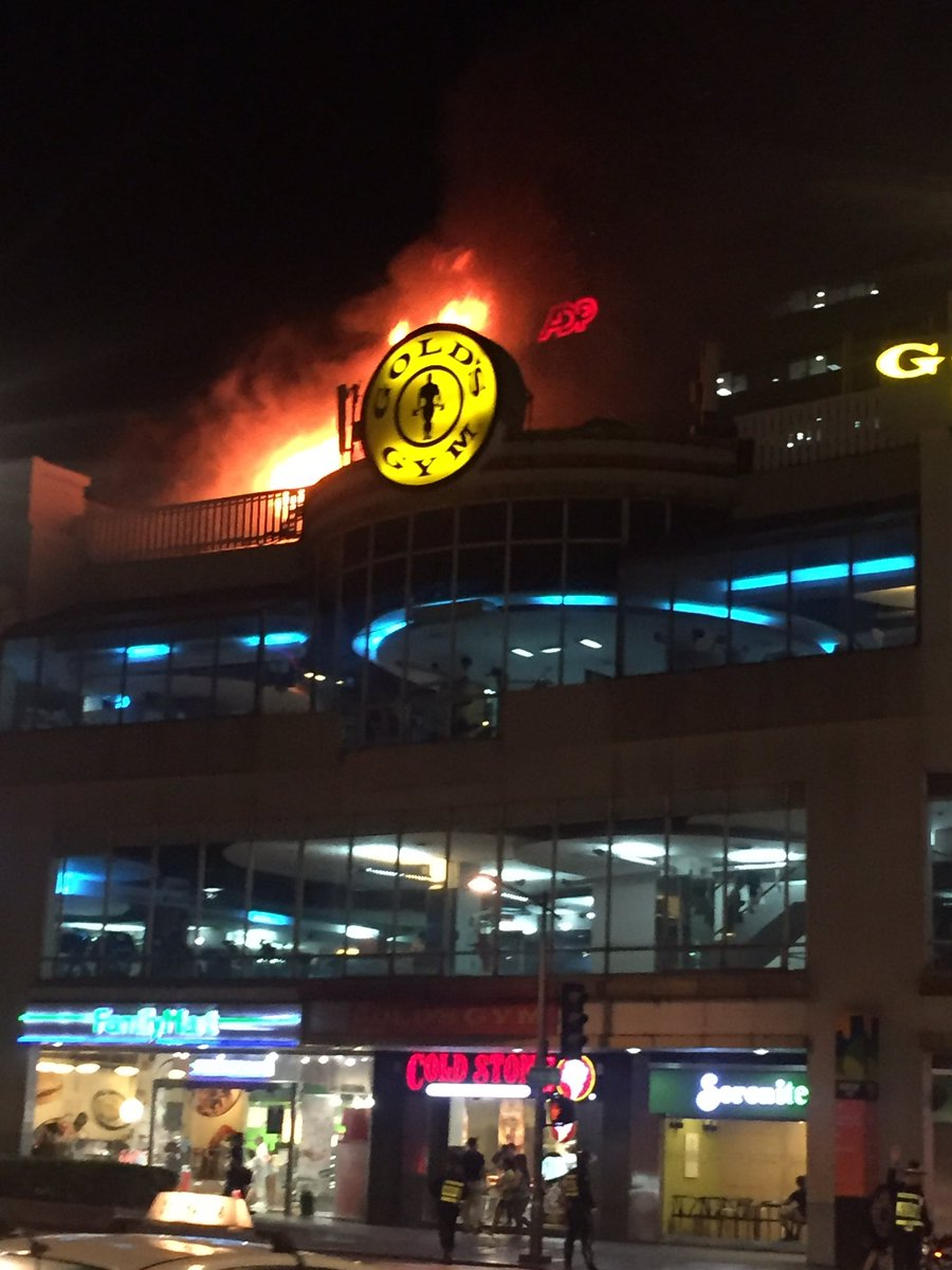 Fire hits Glorietta 3