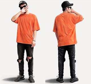 Kaos Cowok Korea Model Keren Terbaru Juni 2016