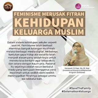Komentar Mpok Mumun untuk Mahasiswi S3 Anti-Feminisme
