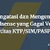 Studi Kasus ; Cara Mengatasi dan Mengembalikan Akun Adsense yang Gagal Verifikasi Identitas KTP/SIM/PASPORT