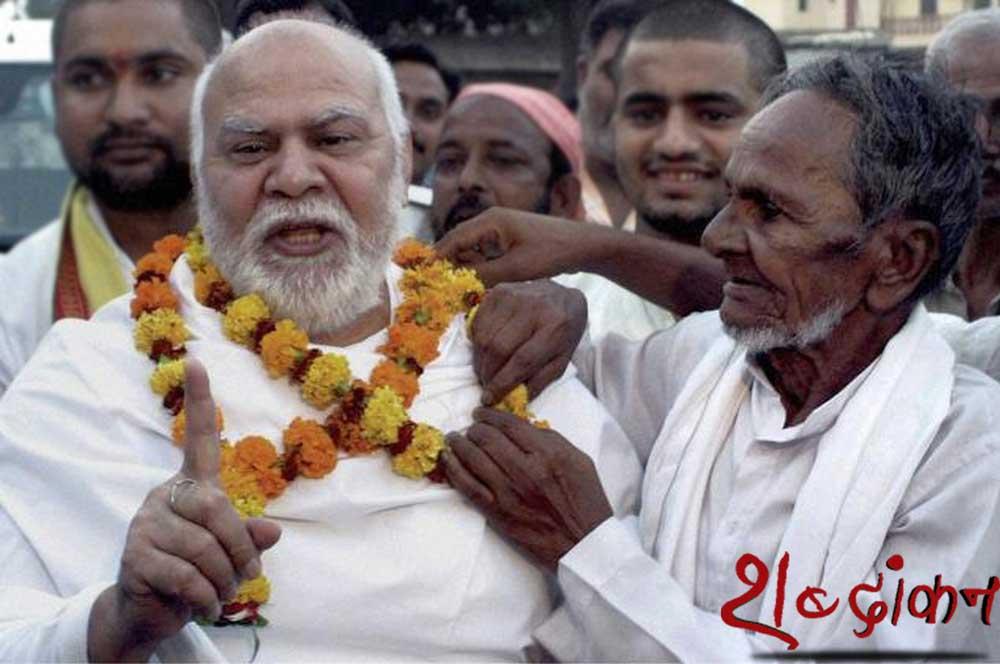 hamid Ansari हाशिम के पिता करीम बख्श कनक भवन मंदिर में सुरक्षा प्रहरी थे