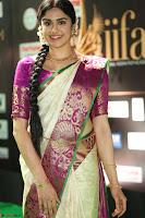 Adah Sharma looks super cute in Saree at IIFA Utsavam Awards 013.JPG