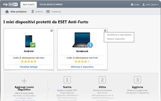 MODANTIFURTO - Recensione Eset Smart Security Premium