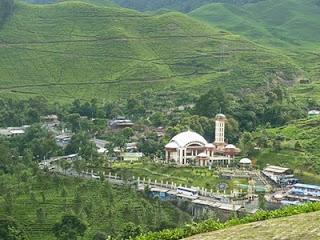 Masjid attawun puncak bogor jawa barat