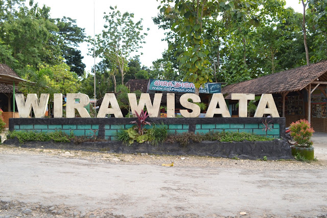 Halaman depan Wirawisata Goa Pindul
