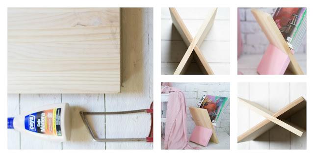 Revistero madera diy