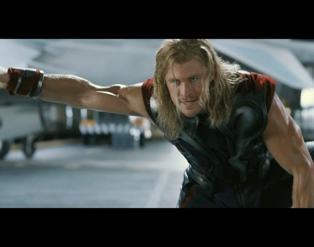 Thor in The Avengers 2012 movieloversreviews.filminspector.com