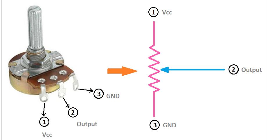 Proper] Potentiometer Connection and Circuit Diagram - ETechnoG   Speaker Rheostat Wiring Diagram      ETechnoG