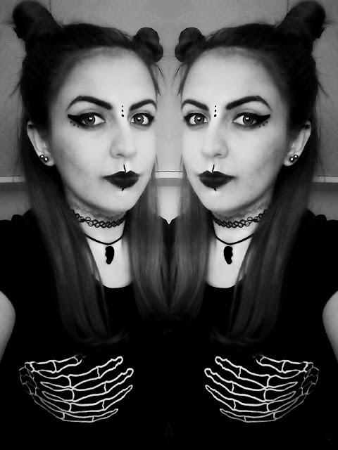 šminka za noć vještica, halloween look