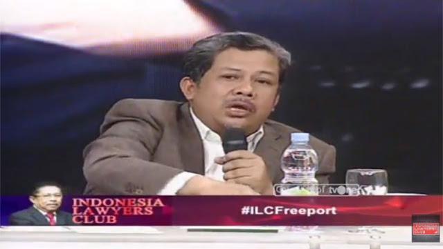 Kritik Keras Fahri Hamzah di ILC soal Freeport