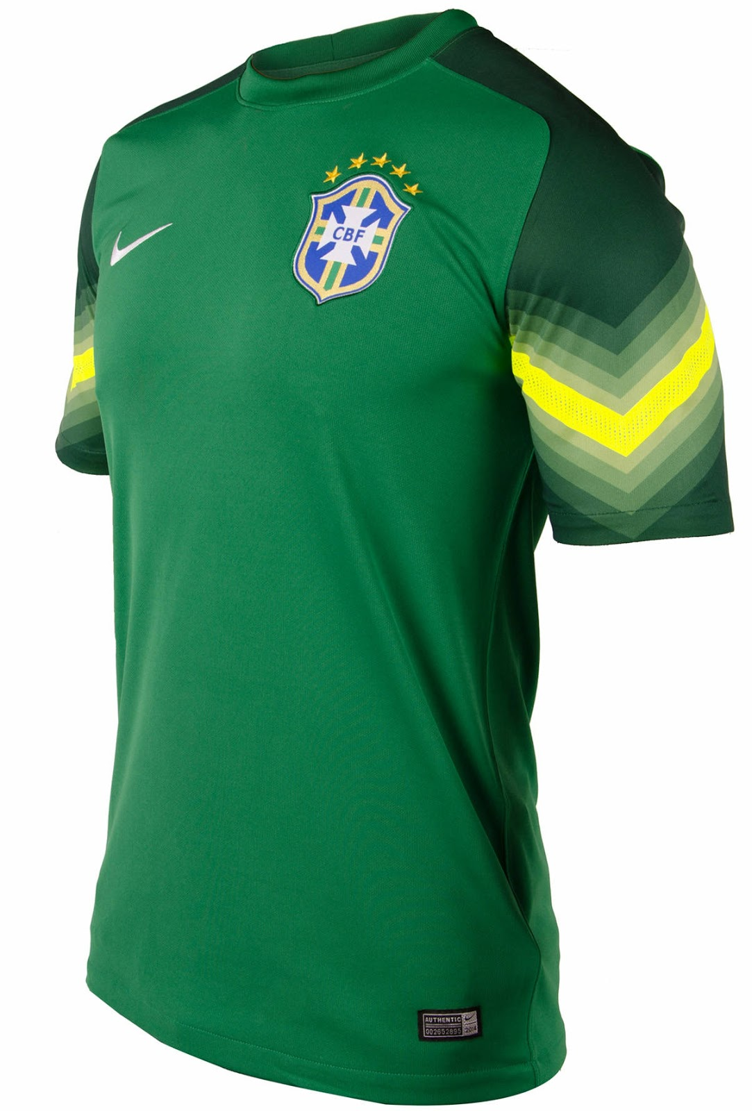 Brazil 2014 World Cup Home And Away Kits Released Footy
