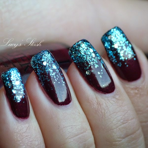 Nail Art 'Frozen Tips - Cool Amazing Frozen Nail Arthttp://nails-side.blogspot.com/