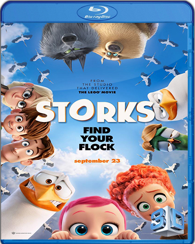Storks [2016] [BD50] [Latino] [3D]
