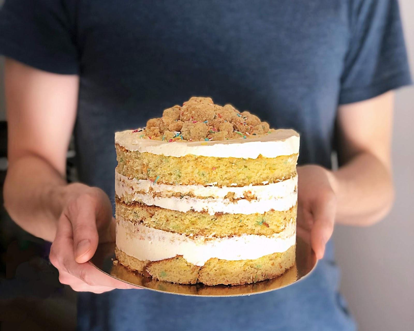 milk bar birthday cake, ciasto urodzinowe milk bar