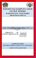 Format SPP dan RPD Dana Desa
