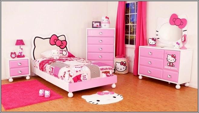 dormitorio tema hello kitty
