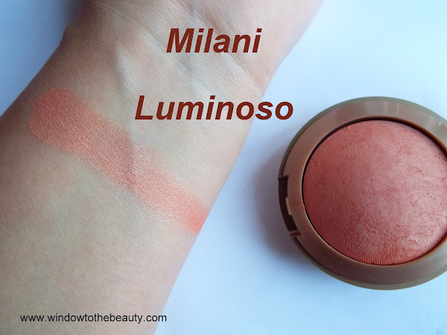 Milani Baked Blush 05 Luminoso swatches