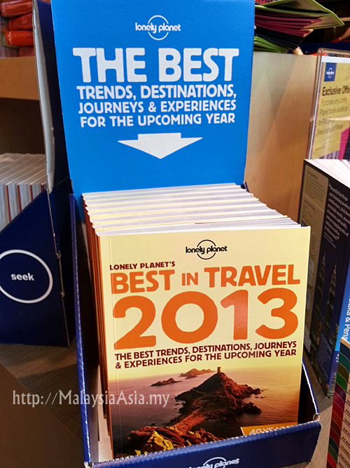 Best in Travel Lonely Planet Book