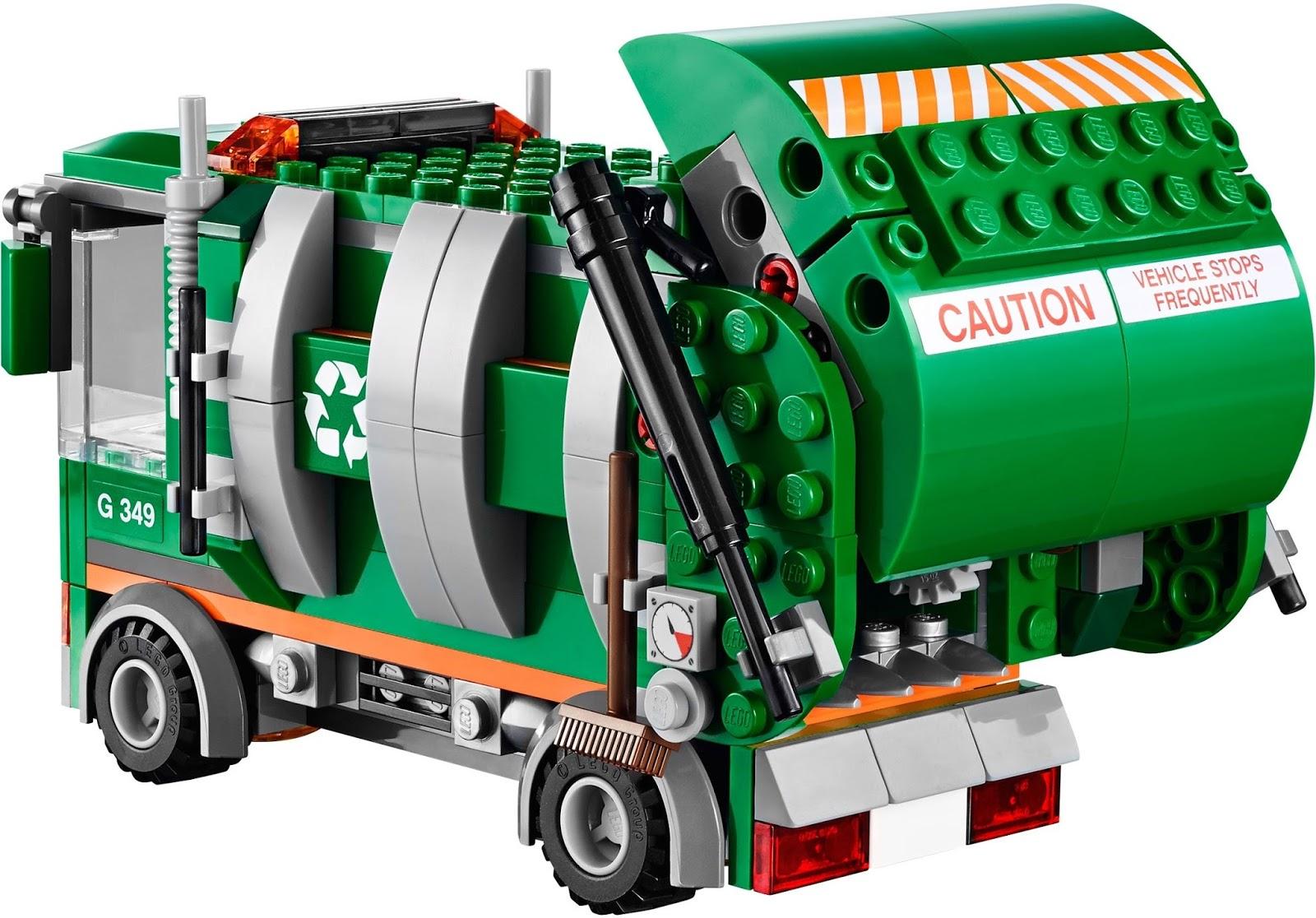 The Lego Movie 70805 Trash Chomper Garbage Truck Vehicle Boxed Set W