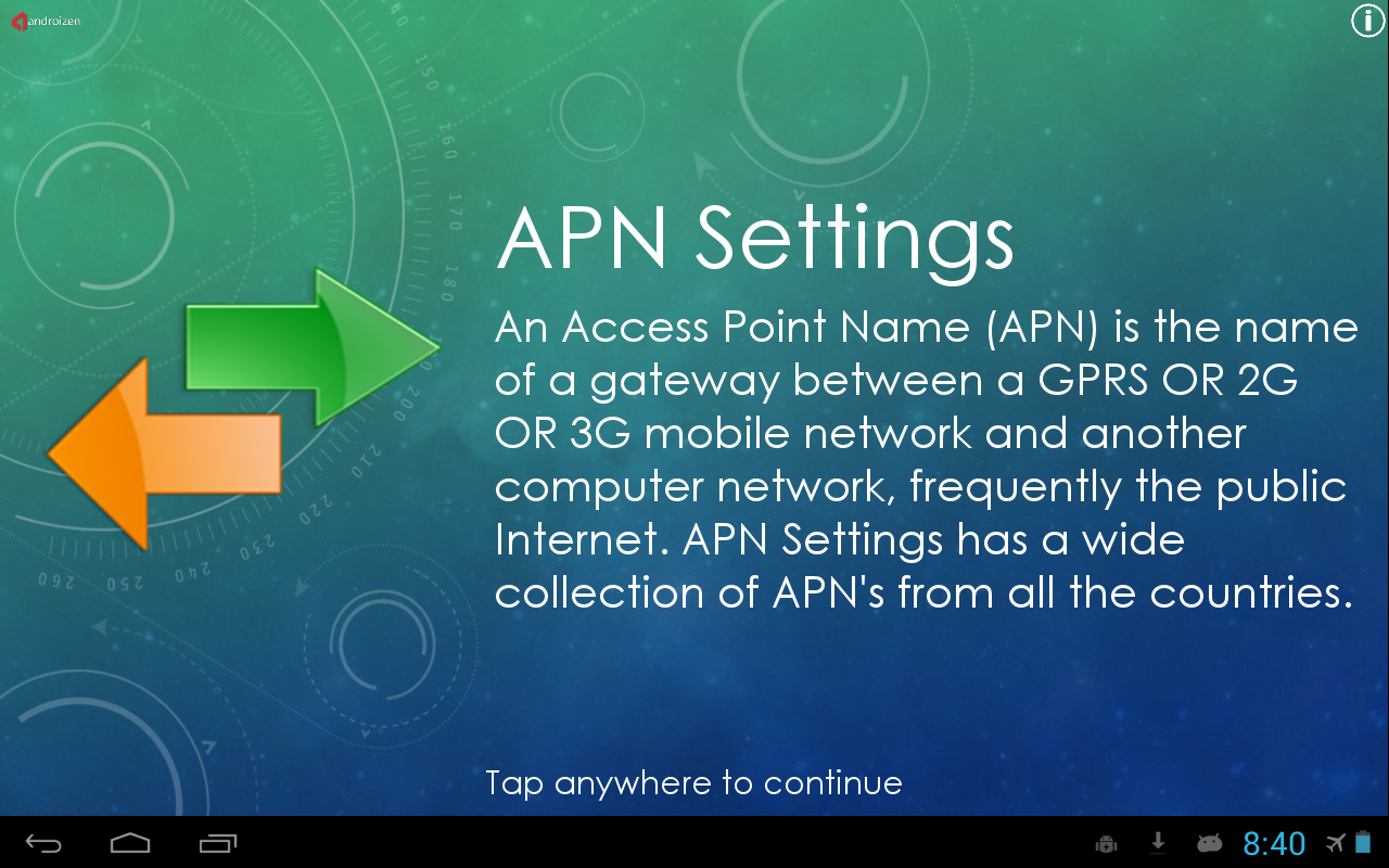 how to find access point name