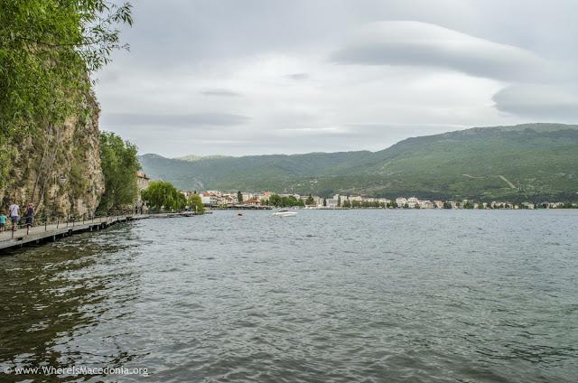 Ohrid Lake, Ohrid city, Macedonia