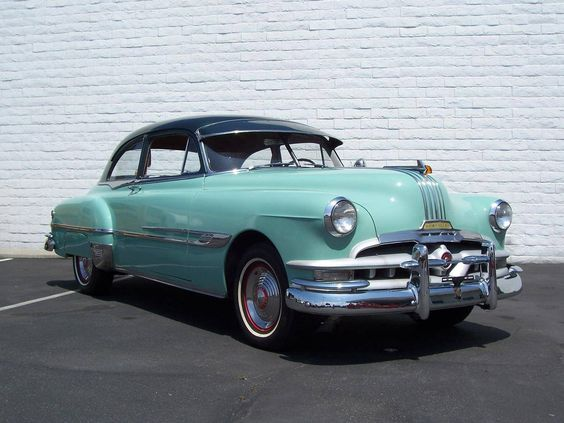 1952 Pontiac Chieftain Convertible - Muscle Cars