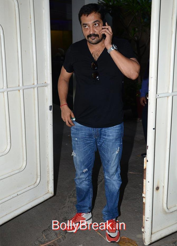 Anurag Kashyap., Anushka Sharma Hot Pics At Bombay Velvet screening