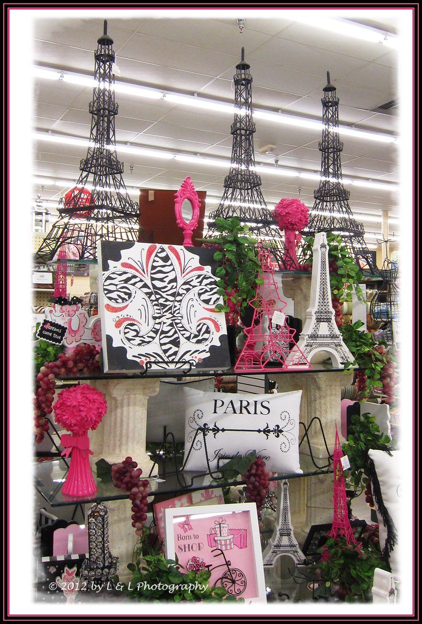 Paris Memorialabilia At Hobby Lobby