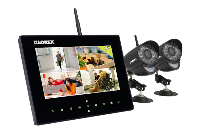 Professional Wireless Security Camera System picture