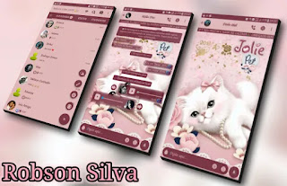 Pet Kitten Theme For GBWhatsApp By Robson