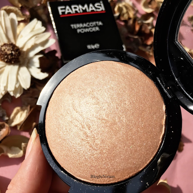 farmasi terracotta powder aydınlatıcı pudra highlighter 1