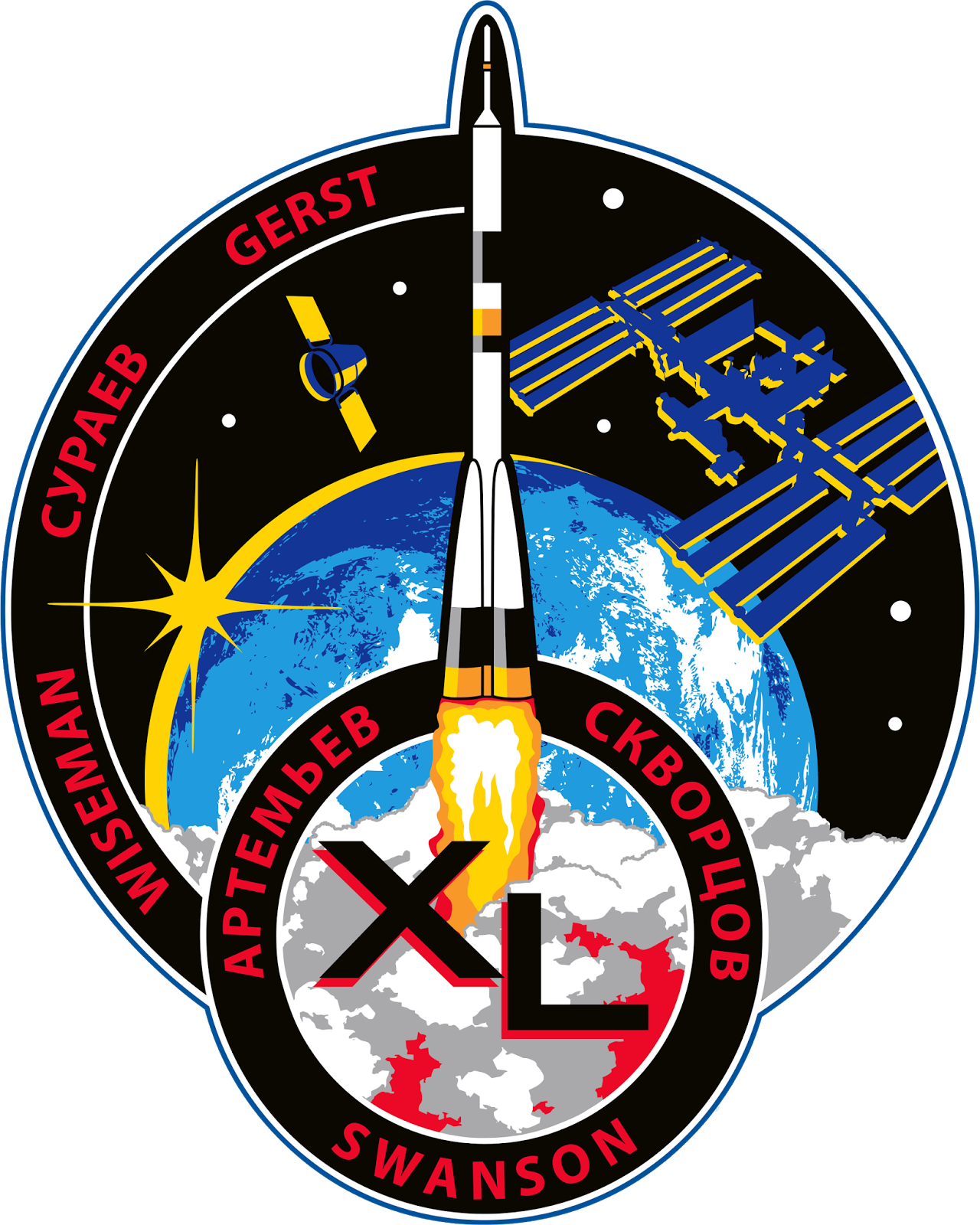 Mission Patches On Mission 4 To The International Space: Orbiter.ch Space News: 2014-05-25