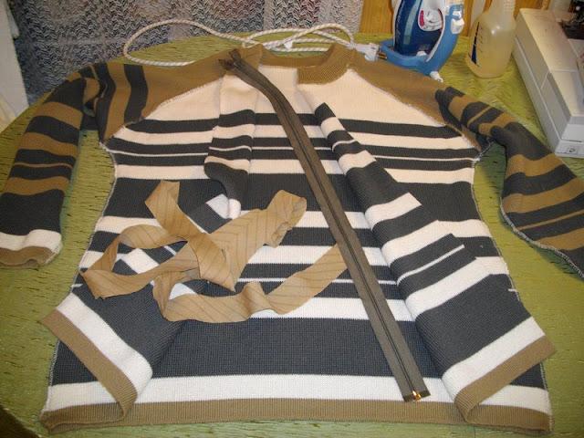 пошив свитера