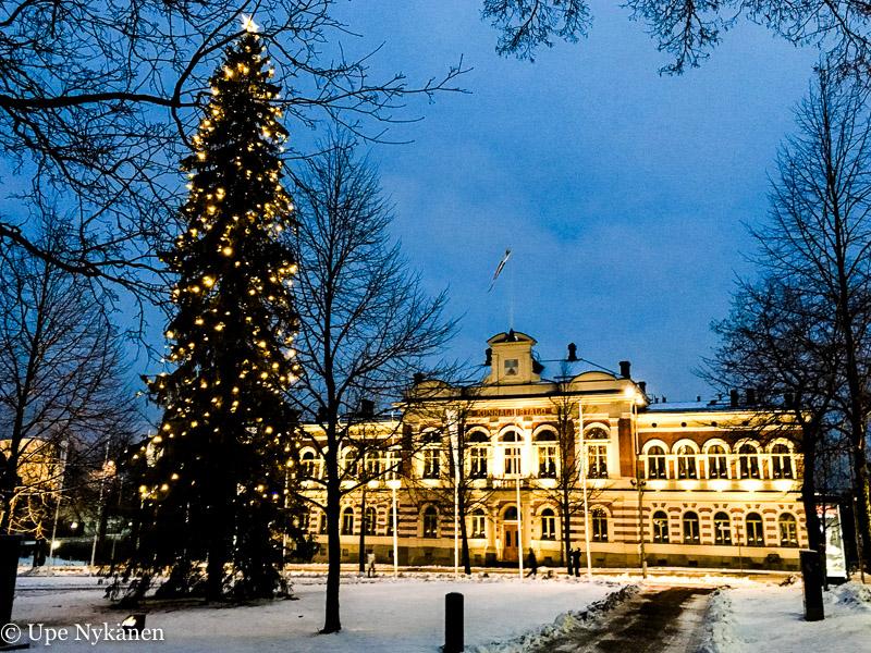 Joulukuusi Jyväskylä