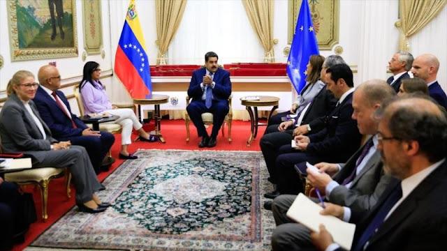 Diplomáticos de UE reafirman su apoyo al segundo mandato de Maduro