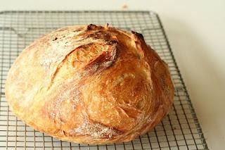 No Knead Bread (Yogurmadan Ekmek)